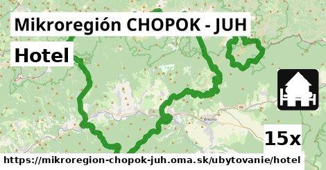hotel v Mikroregión CHOPOK - JUH