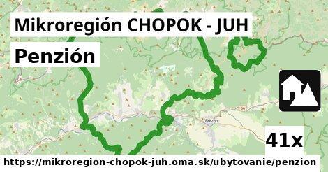 penzión v Mikroregión CHOPOK - JUH