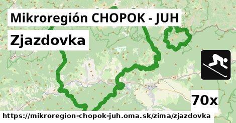 ilustračný obrázok k Zjazdovka, Mikroregión CHOPOK - JUH