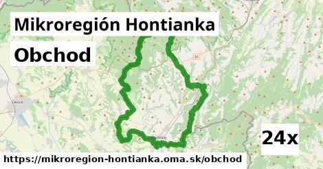 obchod v Mikroregión Hontianka