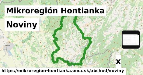 noviny v Mikroregión Hontianka