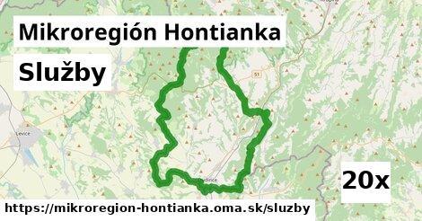 služby v Mikroregión Hontianka