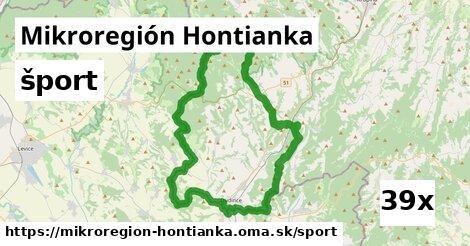 šport v Mikroregión Hontianka