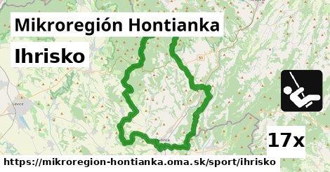ihrisko v Mikroregión Hontianka