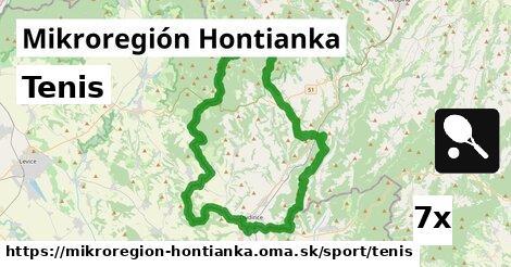 tenis v Mikroregión Hontianka