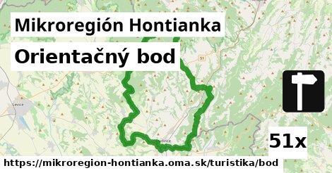 orientačný bod v Mikroregión Hontianka