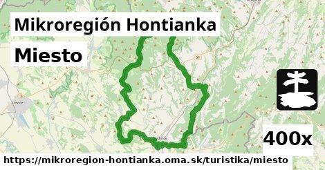 miesto v Mikroregión Hontianka