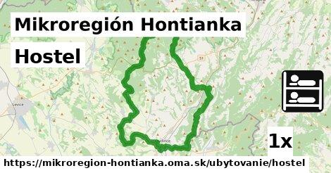hostel v Mikroregión Hontianka