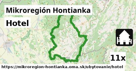 hotel v Mikroregión Hontianka