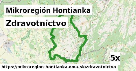 zdravotníctvo v Mikroregión Hontianka