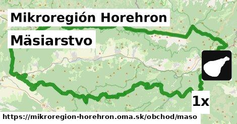 mäsiarstvo v Mikroregión Horehron