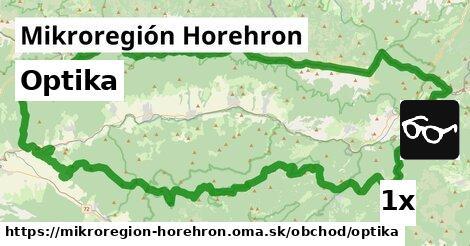 optika v Mikroregión Horehron