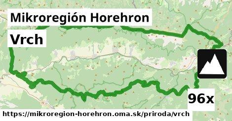 vrch v Mikroregión Horehron