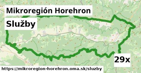 služby v Mikroregión Horehron