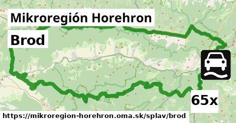 brod v Mikroregión Horehron
