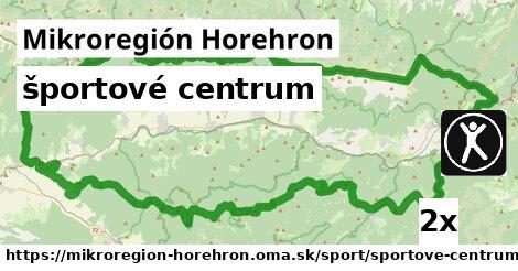 športové centrum v Mikroregión Horehron