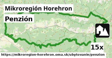 penzión v Mikroregión Horehron