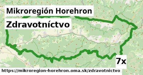 zdravotníctvo v Mikroregión Horehron
