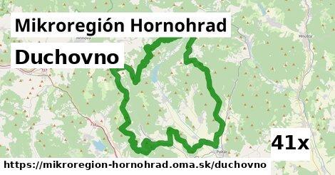 duchovno v Mikroregión Hornohrad