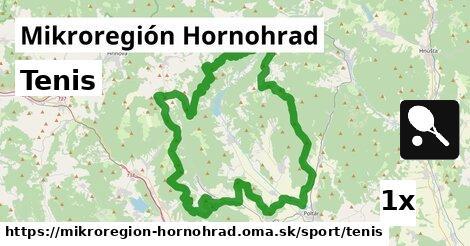 tenis v Mikroregión Hornohrad