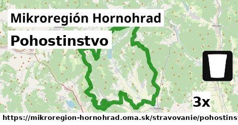 pohostinstvo v Mikroregión Hornohrad