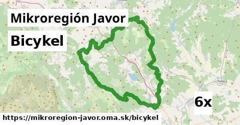 bicykel v Mikroregión Javor
