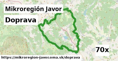 doprava v Mikroregión Javor