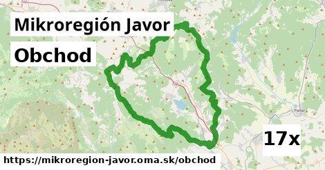 obchod v Mikroregión Javor