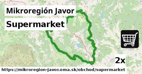 ilustračný obrázok k Supermarket, Mikroregión Javor