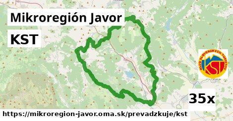 KST v Mikroregión Javor