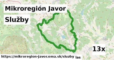 služby v Mikroregión Javor