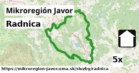 ilustračný obrázok k Radnica, Mikroregión Javor