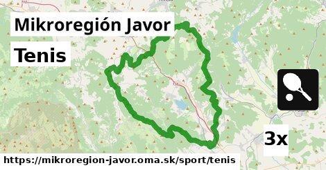 ilustračný obrázok k Tenis, Mikroregión Javor