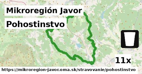 pohostinstvo v Mikroregión Javor