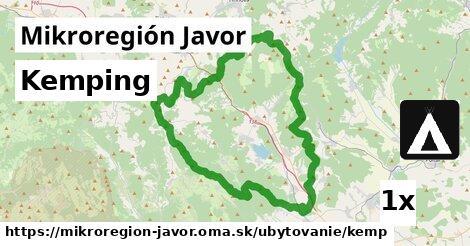 kemping v Mikroregión Javor