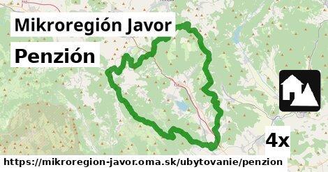 ilustračný obrázok k Penzión, Mikroregión Javor