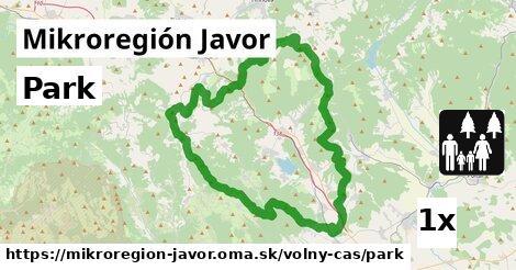 ilustračný obrázok k Park, Mikroregión Javor