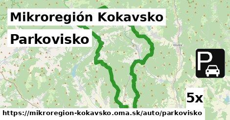 parkovisko v Mikroregión Kokavsko