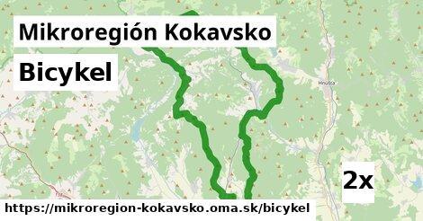 bicykel v Mikroregión Kokavsko