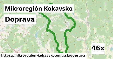 doprava v Mikroregión Kokavsko