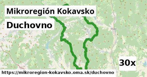 duchovno v Mikroregión Kokavsko
