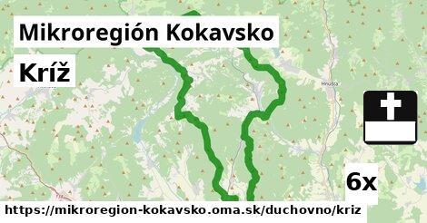 kríž v Mikroregión Kokavsko