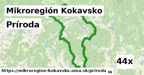príroda v Mikroregión Kokavsko