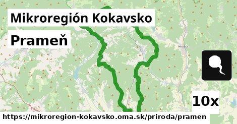 prameň v Mikroregión Kokavsko