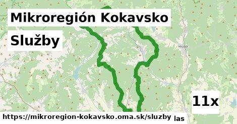 služby v Mikroregión Kokavsko