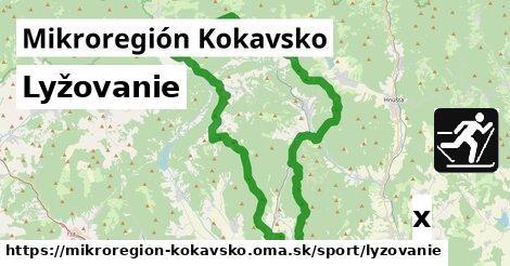 lyžovanie v Mikroregión Kokavsko