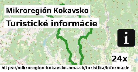 turistické informácie v Mikroregión Kokavsko