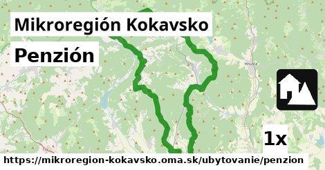 penzión v Mikroregión Kokavsko