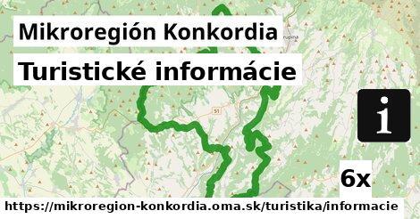 ilustračný obrázok k Turistické informácie, Mikroregión Konkordia