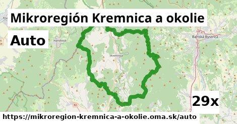 auto v Mikroregión Kremnica a okolie
